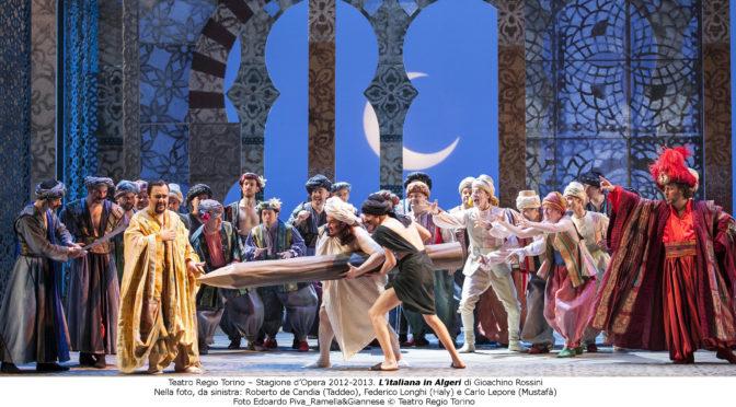 L'italiana in Algeri al Teatro Regio
