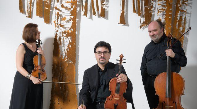 """Il Trio """"Il Furibondo"""" nella nuova interpretazione dei Trii per archi di Reger"""